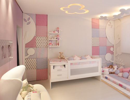 quarto do bebe menina